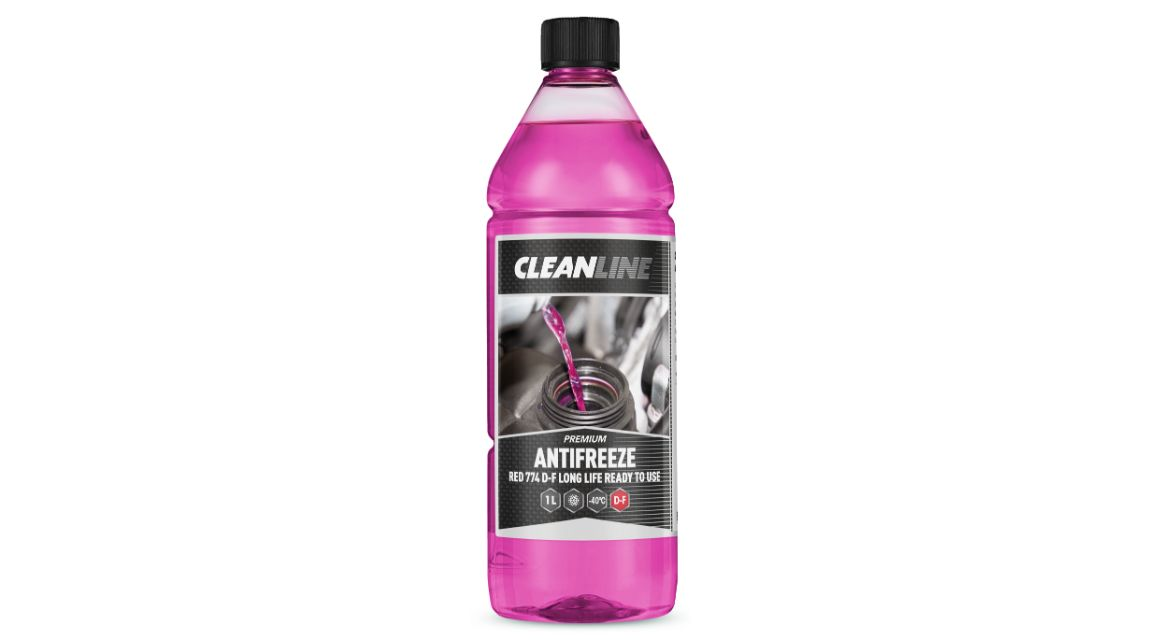 Cleanline Antifreeze RTU Red D-F