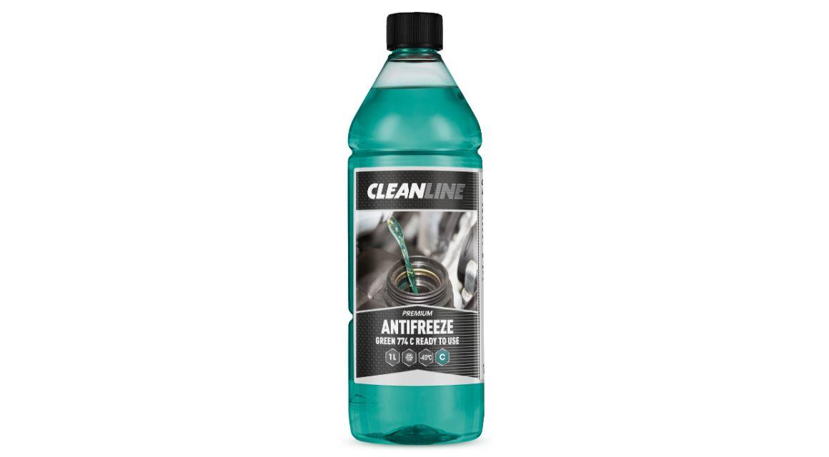 Cleanline Antifreeze RTU green